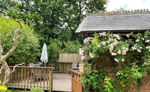 Gate to Woodside Lodge