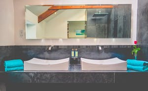 Lamorna View his and hers designer basins