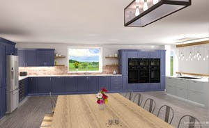 Croftview - The kitchen will be well equipped to cater for large groups