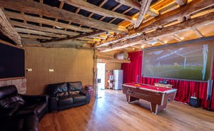 Cinema/Games Room