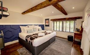 Hesdin Hall - Bedroom 6 is on the top floor and has an en suite shower room