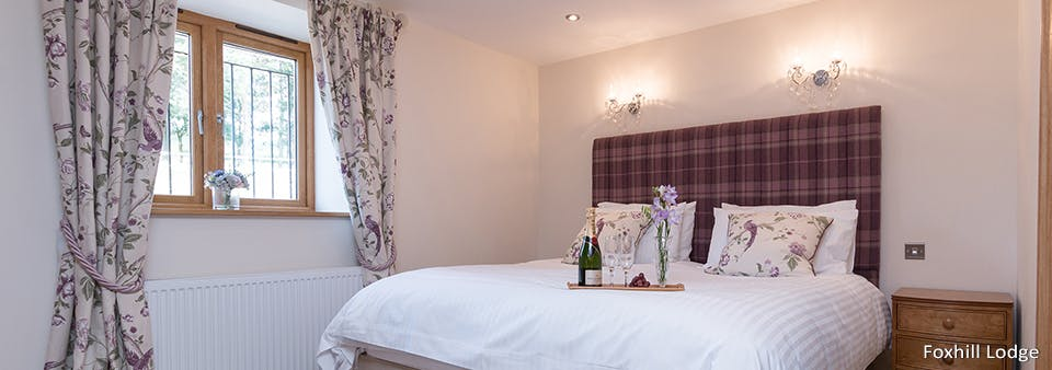 Luxury Bedroom at Foxhill Lodge