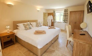 Holemoor Stables - Bedroom 2 is a stylish room with an en suite wet room