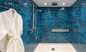 Shires - The access friendly en suite wet room for Bedroom 4