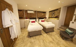 Beaverbrook 20 - Bedroom 2: A cosy room for 2 (3 at an extra charge), with an ensuite bathroom