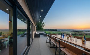 Churchill 30 - Breathtaking views of the Somerset countryside from the back of the house