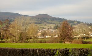 Walking towards Crickhowell
