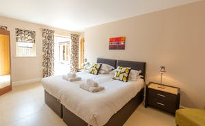 Ramscombe - Bedroom 1 is on the ground floor and has an en suite shower room