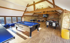 Beaverbrook 20 - An 8ft American pool table, US air hockey, table tennis and table football!