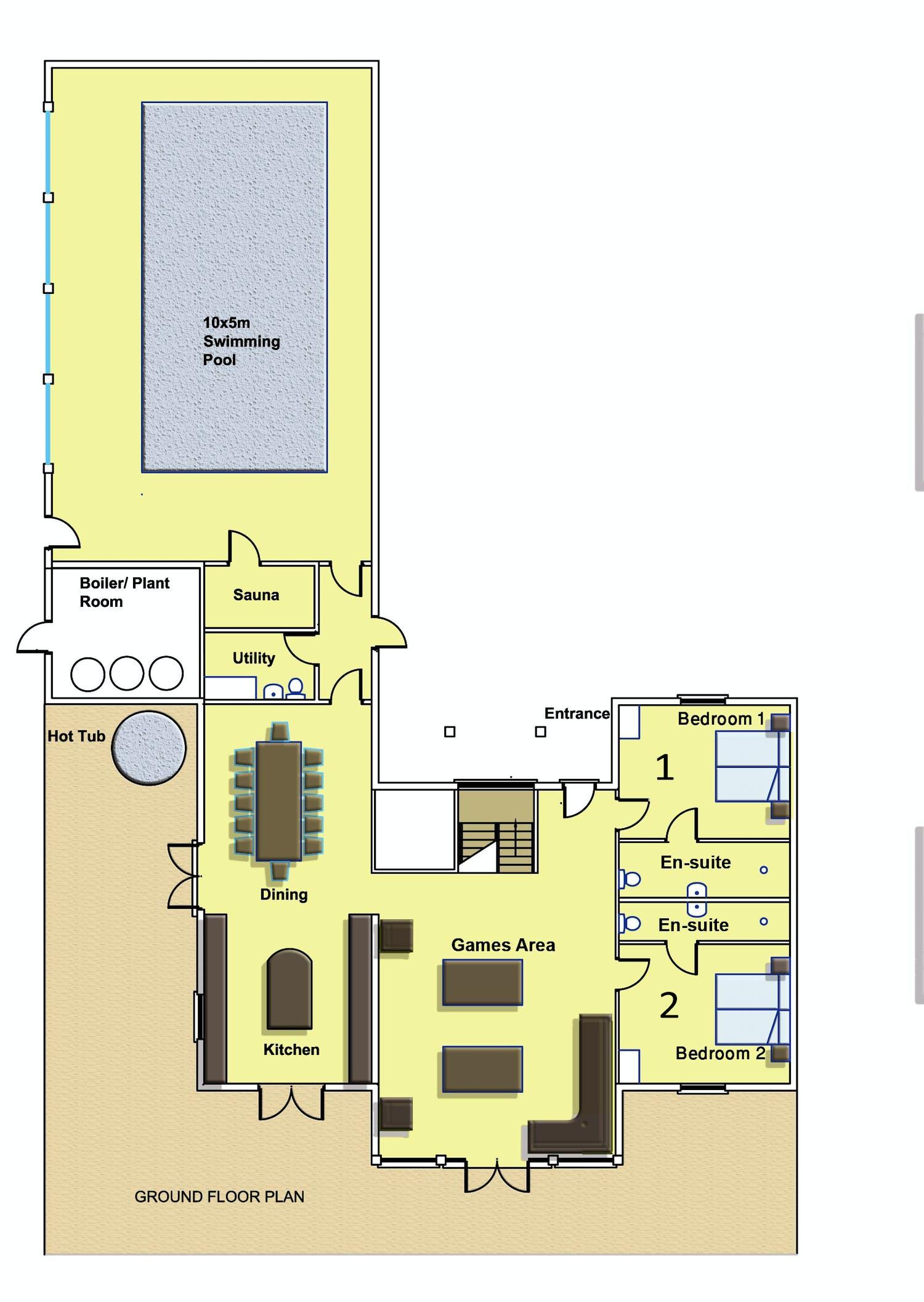 Floorplans ham bottom somerset sleeps 12 for 1 2 3 floor
