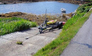 Slipway for small craft