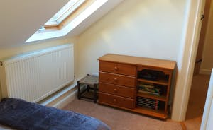 Bedroom 4 with single bed & chest drawers