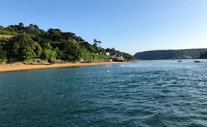 Looking towards East Portlemouth from Salcombe Harbour