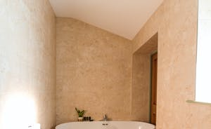 Beaverbrook 30 - A modern free-standing bath in the en suite for Bedroom 2