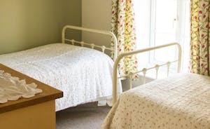 Bedroom 5 - twin room with river views, 1st floor