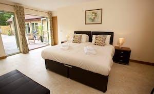 Crowcombe -  On the ground floor is bedroom 1, with an en suite shower room