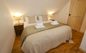 Flossy Brook - With calm, neutral tones, Bedroom 4 is the smallest room and shares a bathroom with Bedroom 5