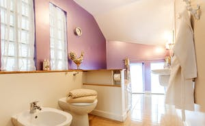 5 piece bathroom directly opposite Bedroom 3