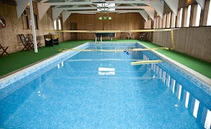 Culmbridge House - What a pool house! It doubles up as a games room (the Dads love it!)