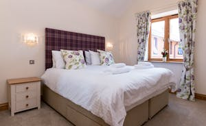 Foxhill Lodge - The bedrooms have such a wonderful restful ambience