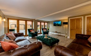 Kingshay Barton - The Snug provides a quieter space to watch TV, to read or play board games