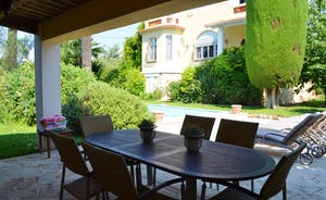 View from the summer kitchen