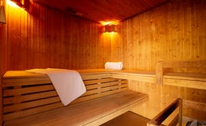 The Cottage Beyond: The Sauna for your exclusive use