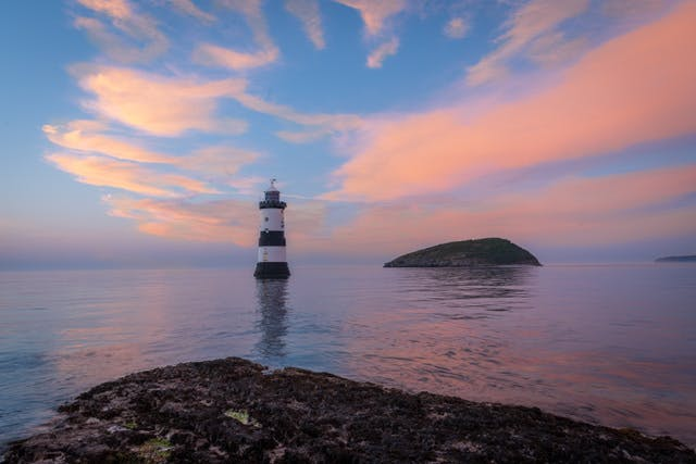 Penmon at sunset, Anglesey