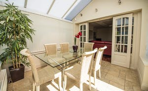Large dining conservatory area