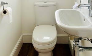 1st Floor WC with Basin