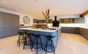 The Granary - A commodious well equipped kitchen, with plenty of room for socialising