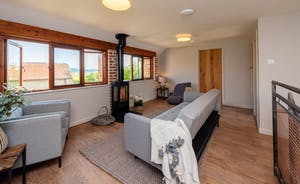 Whimbrels Barton - The living room at Bean Goose Barn