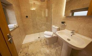Beaverbrook 20 - Bedroom 4 en suite, with a walk-in shower
