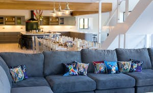 The Granary - Enormous comfy sofas to sink into, to curl up and relax...