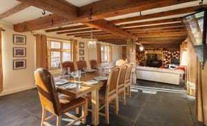 Bumblebee: this room has a charming cottagey feel to it with centuries old beams