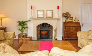 The Old Rectory - The elegant Drawing Room; refined and relaxing