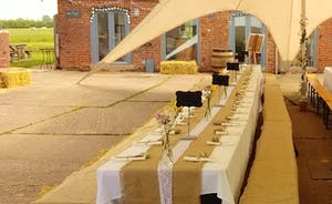 winery courtyard marquee