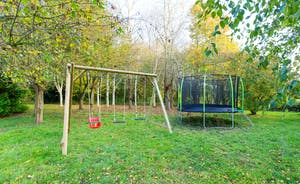 Ilbeare - Go wild in the country! Children will have many happy hours on the play equipment by the woodland area