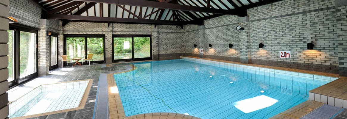 Corffe house holiday cottages north devon with swimming for Innovative pool design kings mountain