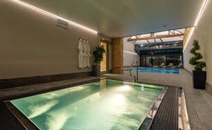 Churchill 30 - The spa hall has a pool, hot tub and sauna - exclusively yours for the whole of your stay