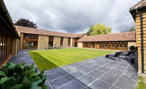 Coat Barn - That courtyard is quite a sun trap