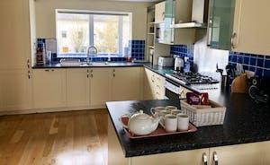 Goose Nest House Kitchen