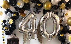 Enjoy a birthday celebration
