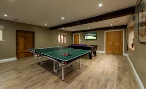 Kingshay Barton - Play pool and table tennis in the Games Room