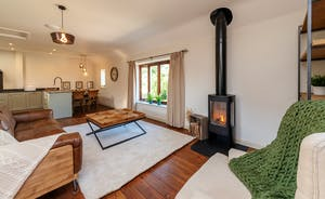 Whimbrels Barton - Snipes Rest: Upstairs is the open plan living space