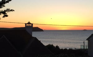 Polzeath Sunset from Rabbit Hill