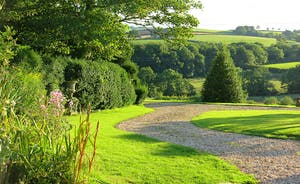 Berry House - The lush countryside and softly rolling hills of Devon