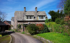 Bossington Hall - There is further accommodation for 6 at Gate Cottage at the bottom of the drive