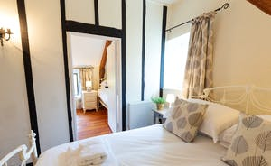 Pippinsands, Stonehayes Farm - Bedroom 5 has two rooms, so is great for families