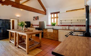 Dustings - A well equipped farmhouse kitchen - all geared up for cooking for large groups